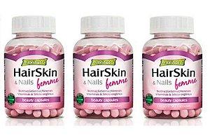 Hair Skin & Nails Femme (cápsula Da Beleza) com 270 Cápsulas - Hairskin