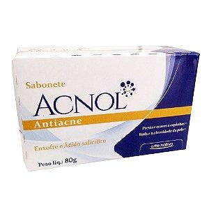 Sabonete Acnol Enxofre e Acido Salicílico 80g - Arte Nativa