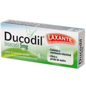 Bisacodil - DUCODIL 5mg 20cpr - Cimed