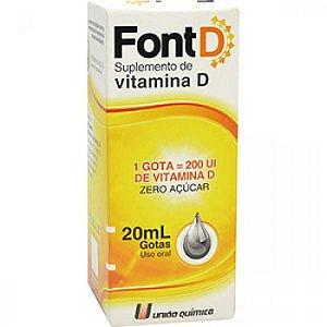 COLECALCIFEROL - FONT D gotas 20ml - Vitamina D - UQ