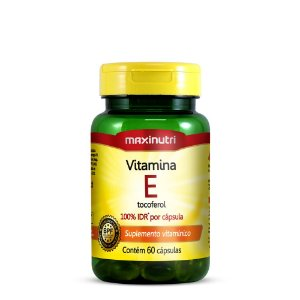 Vitamina E 10mg 60 caps Maxinutri