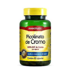Picolinato de Cromo 60cpas. Maxinutri