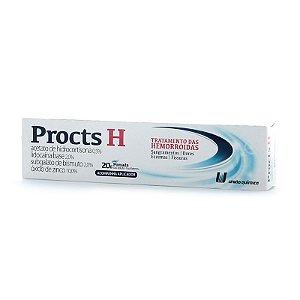 Procts H pomada 20gr - União Química