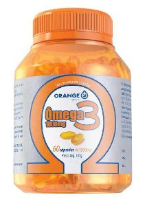 OMEGA 3 OLEO DE PEIXE C/60 CPS ( Orange )