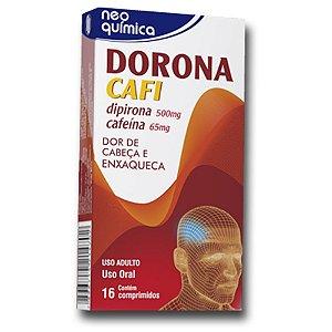 Dipirona+Cafeina - DORONA CAFI  16cpr