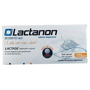 LACTASE - LACTANON C/ 30 TABLETES