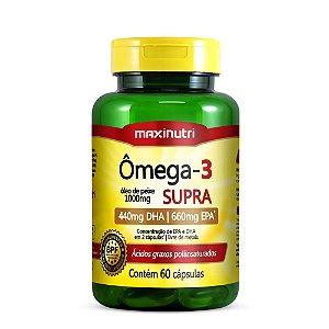 Omega 3 Supra 60capsulas  Maxinutri