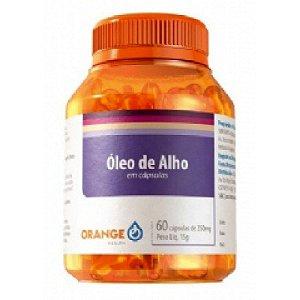Óleo de Alho 400mg 60cps - Orange