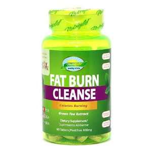 Fat Burn Cleanse 60 Tablets/Pastilhas 80mg - Nutrigold