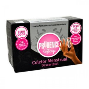 Prudence Softcup Coletor Menstrual 4un
