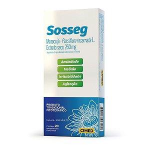 PASSIFLORA - SOSSEG 260MG 20CPR REV CIMED