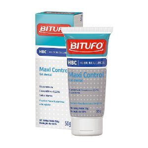 Gel Dental Maxi control 50g - Bitufo