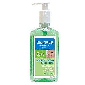 Sabonete Granado Bebe Liquido Erva Doce 250ml
