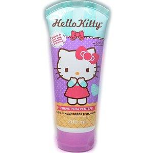Creme Para Pentear Hello Kitty Cabelos Cacheados 200ml