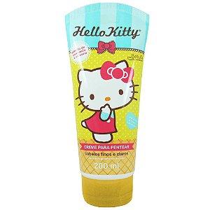Creme Para Pentear Hello Kitty 200ml Cabelos Finos e Claros