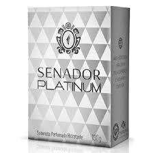 Sabonete Senador Masculino Platinum 130gr