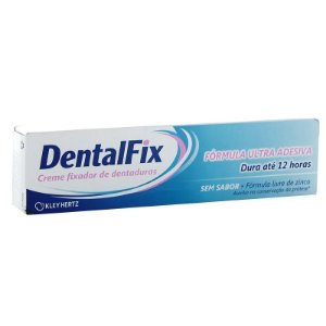 Dentalfix Creme Adesivo Sem Sabor 20gr - Kley Hertz