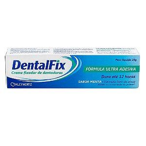 Dentalfix Creme Adesivo Sabor Menta 20g