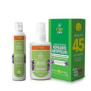 Kit Easy Care Shampoo e Repelente Antipiolho