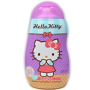 Shampoo Hello Kitty Cabelos Cacheados e Ondulados 260ml