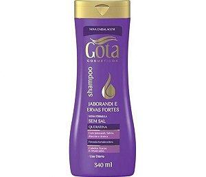 Shampoo Gota Dourada 340ml Jaborandi / Ervas Fortes