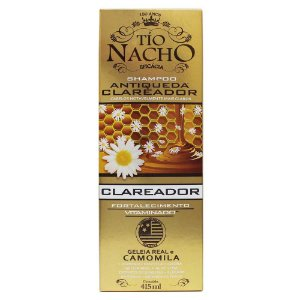 Shampoo Tio Nacho Antiqueda Clareador Camomila 415ml