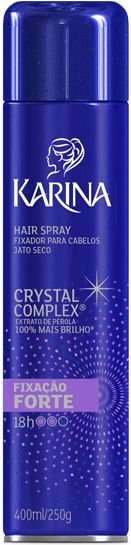 HAIR SPRAY KARINA CRYSTAL FORTE 250ML