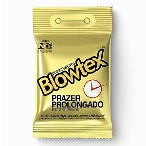 Preservativo Blowtex Retardante Prazer Prolonagado c/ 3