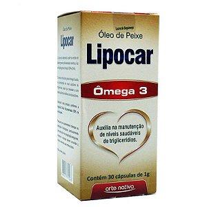 Ômega 3 - Lipocar 60 cápsulas - Arte Nativa