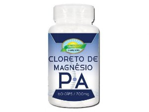 Cloreto de Magnesio P.A.550 MG Nutrigold c/ 60 CAPS
