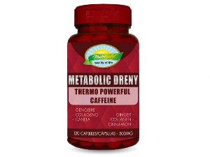 METABOLIC DRENY – POTE 120 CAPSULAS SOFTGEL (500MG) NUTRIGOLD