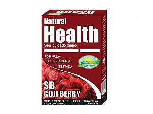 SB GOJI BERRY – NATURAL HEALTH – 30 MONODOSES DE 4 PASTILHAS 1000MG