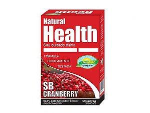 SB CRANBERRY – NATURAL HEALTH – 30 MONODOSES DE 4 PASTILHAS 1000MG