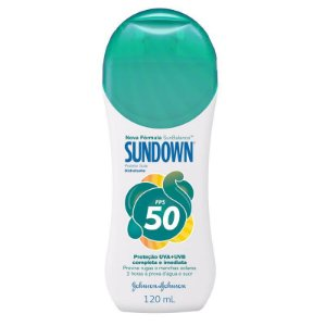 Bloqueador Solar 120ml FPS 50 Sundown