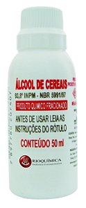 ALCOOL DE CEREAIS 50ML RIO QUIMICA