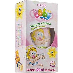 Água de Colônia Baby Menina Muriel 100ml