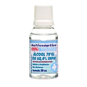 ALCOOL 70% 30ML ADV