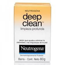 Neutrogena Deep Clean Sabonete limpeza profunda em Barra 80g