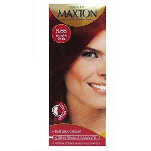 Tintura Maxton Kit 6.66 Vermelho Cereja