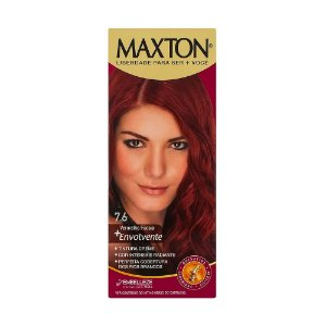 Tintura Maxton Kit 7.6 Vermelho Fucsia
