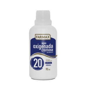 Agua Oxigenada Cremosa 20Vol FARMAX 90ML