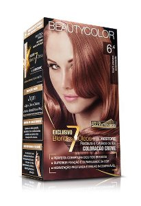 Tintura Beauty Color Kit 6.4 Louro Escuro Acobreado