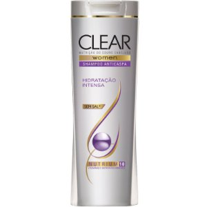 Shampoo Clear Anti Caspa Hidratação Intensa 200ml