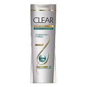 Shampoo Clear Anti Caspa Crescimento e  Força 200ml