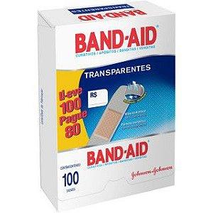 Band Aid Transparente Leve 100 Pague 80