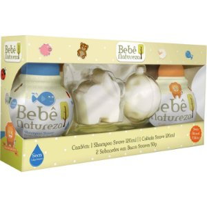Kit Bebê Natureza (Shampoo+condicionador+2 Sabonetes)