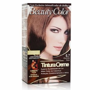 Tintura Beauty Color Sem Amônia 6.7 Chocolate Suiço