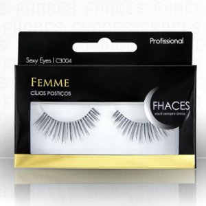 Cilios Postiços Femme Fhaces Profissional Sexy Eyes C3004
