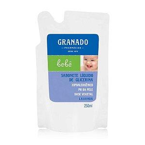 Sabonete Granado Refil Infantil Lavanda 250mL