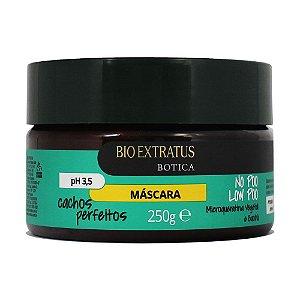 Mascara Bio Extratus Botica Cachos Perfeitos 250Grs